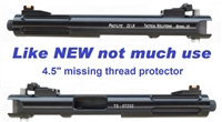 "USED NON-THREADED Tactical Solutions (TacSol) Mark 1, 2, 3, 22-45 Upper 6"" Red"
