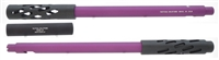 "TacSol Tactical Solutions SBX Barrel for Ruger 10/22 Matte Purple & Black 1/2""x28 Threads"