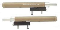 "TacSol Tactical Solutions Takedown Charger 9"" Bull Barrel (SBR for 10/22) Matte FDE Quicksand"