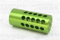 "Tactical Solutions X-Ring .920"" Compensator Laser Green 1/2""x28"