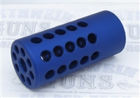 "TacSol Tactical Solutions X-Ring .920"" Compensator Matte Blue for Ruger 10/22"