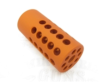 "TacSol Tactical Solutions X-Ring .920"" Compensator Matte Orange for Ruger 10/22"