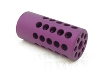 "TacSol Tactical Solutions X-Ring .920"" Compensator Matte Purple for Ruger 10/22"