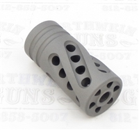 "TacSol Tactical Solutions PERFORMANCE SERIES X-Ring .920"" Compensator Matte Gun Metal Gray"