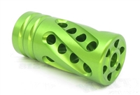 "TacSol Tactical Solutions PERFORMANCE SERIES X-Ring .920"" Compensator LASER GREEN"