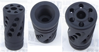 "Tactical Solutions PERFORMANCE SERIES X-Ring .920"" Compensator Matte Black"