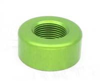 "TacSol X-Ring Ruger 10/22 REPLACEMENT .920"" Diameter Thread Protector (End Cap) 1/2""x28 LASER GREEN"