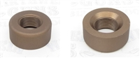 "TacSol X-Ring Ruger 10/22 REPLACEMENT .920"" Diameter Thread Protector (End Cap) 1/2""x28 Matte Quicksand (FDE)"