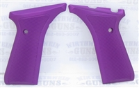 Tactical Solutions Buck Mark Aluminum Grips Matte Purple