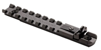 Tactical Solutions Buck Mark Integral Picatinny Rail & Rear Sight BMSR-INT