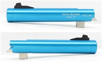"TacSol Tactical-Solutions NON-Fluted 5.5"" Trail Lite Buck Mark Barrel Threaded 1/2""x28 Turquoise"