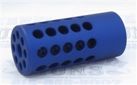 Tactical Solutions 1/2x28 Trail-Lite Compensator Matte Blue