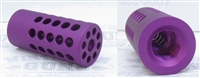 Tactical Solutions 1/2x28 Trail-Lite Compensator Matte Purple