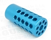 TacSol Tactical-Solutions 1/2x28 Trail-Lite Compensator Turquoise