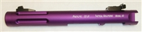 "Mark 1 2 3 TacSol Tactical Solutions Upper 4.5"" Fluted Pac-Lite Matte Purple 1/2""x28 threads"