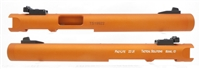 "Mark 1 2 3 TacSol Tactical Solutions Upper Pac-Lite 6"" NON-Fluted Matte Orange 1/2""x28 threads"