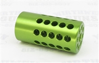 "Tactical Solutions Pac-Lite 1"" Compensator Laser Green 1/2""x28"