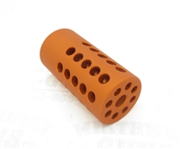 "TacSol Tactical Solutions Pac-Lite 1"" Compensator Matte Orange"