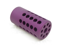"TacSol Tactical Solutions Pac-Lite 1"" Compensator Matte Purple"