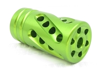 "Tactical Solutions PERFORMANCE SERIES Pac-Lite 1"" Compensator LASER GREEN 1/2""x28"