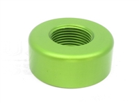 "TacSol Tactical Solutions Pac-Lite REPLACEMENT 1"" Diameter Thread Protector (End Cap) 1/2""x28 LASER GREEN"