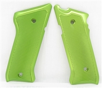 Tactical Solutions Pac-Lite Aluminum Mark 3 Grips Laser Green