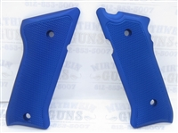 Tactical Solutions Pac-Lite Aluminum Mark 3 Grips Matte Blue