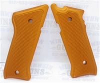 Tactical Solutions Pac-Lite Aluminum Mark 3 Grips Matte Orange