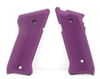 Tactical Solutions Pac-Lite Aluminum Mark 3 Grips Matte Purple