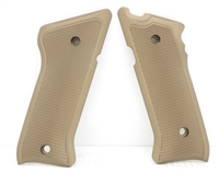 Tactical Solutions Pac-Lite Aluminum Mark 3 Grips Matte Quicksand (FDE)