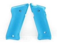 Tactical Solutions Pac-Lite Aluminum Mark 3 Grips Turquoise