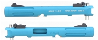 "TacSol Tactical Solutions Mark IV Pac-Lite 4.5"" Fluted Matte Turquoise"