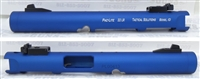 "Tactical Solutions Mark IV Pac-Lite 4.5"" NON-Fluted Matte Blue 1/2x28 threads"