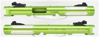 "Tactical Solutions Mark IV Pac-Lite 4.5"" Fluted Laser Green Silver Flutes"