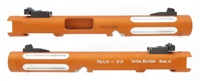 "Tactical Solutions Mark IV Pac-Lite 4.5"" Fluted Matte Orange Silver Flutes"
