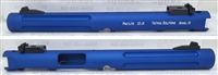 "Tactical Solutions Mark IV Pac-Lite 6"" Fluted Matte Blue 1/2x28 threads"
