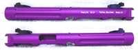 "Tactical Solutions Mark IV Pac-Lite 6"" Fluted Matte Purple 1/2x28 threads"