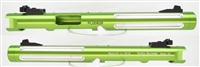 "Tactical Solutions Mark IV Pac-Lite 6"" Fluted Laser Green Silver Flutes"
