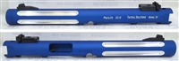 "Tactical Solutions Mark IV Pac-Lite 6"" Fluted Matte Blue Silver Flutes"