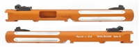 "Tactical Solutions Mark IV Pac-Lite 6"" Fluted Matte Orange Silver Flutes"