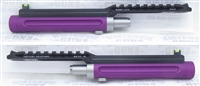 "TacSol Tactical Solutions Ridge-Lite Matte Purple Barrel for S&W Victory 1/2""x28 Threads"