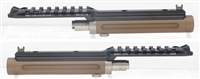 "TacSol Tactical Solutions Ridge-Lite Matte Quicksand (FDE) Barrel for S&W Victory 1/2""x28 Threads"