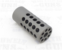 "TacSol Tactical Solutions Ridge-Lite Matte Gun Metal Gray Compensator for S&W Victory 1/2""x28 Threads"
