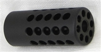 "Tactical Solutions Ridge-Lite Matte Black Compensator for S&W Victory 1/2""x28 Threads"