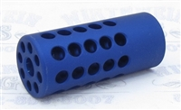 "TacSol Tactical Solutions Ridge-Lite Matte Blue Compensator for S&W Victory 1/2""x28 Threads"