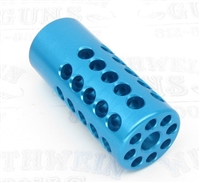 "TacSol Tactical Solutions Ridge-Lite Turquoise Compensator for S&W Victory 1/2""x28 Threads"