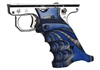 Volquartsen MK3 Blue & Gray Laminated Wood Pistol Right Hand Grips