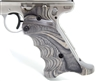 Volquartsen MK3 Gray Laminated Wood Pistol Right Hand Grips