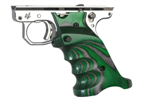 Volquartsen MK3 Green Laminated Wood Pistol Right Hand Grips