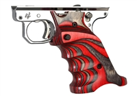 Volquartsen MK3 Red Laminated Wood Pistol Right Hand Grips VC3TRG